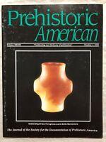 PREHISTORIC AMERICAN 1999 #1 AUTHENTIC INDIAN ARTIFACTS ARROWHEADS MAGAZINE C18