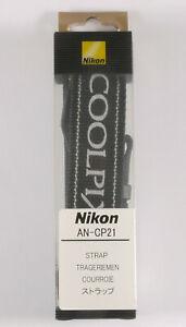 PRL) NIKON COOLPIX AN-CP21 ANCP21 CINGHIA FOTOCAMERA STRAP TRAGERIEMEN COURROIE