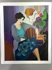 "Tarkay Itzchak Limited Edition Original Serigraph ""HAND SIGNED"" Limited Edition"