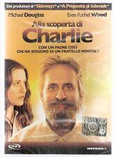 Alla Scoperta di Charlie DVD Michael Douglas Evan Rachel Wood [dvd_audio]