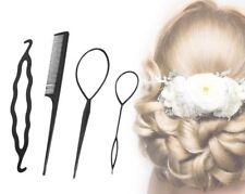 4er Set Topsy Tails Frisurenhilfe Haar Twister Hair Twister Haarschlaufen Zopf