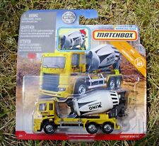 Matchbox 2019 Real Working Rigs FWD52 MBX Cement King HD Mixer. GBL03