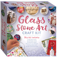 Glass Stone Art Craft Kit  Create Your Own Jewellery,Art,Or Accessories NEW