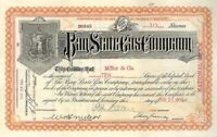 Bay State Gas Company - Stock Certificate