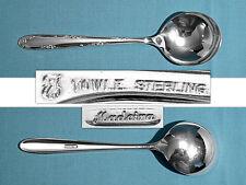 Towle Sterling Cream Soup Spoon(S) ~ Madeira ~ No Mono