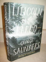 Lincoln In The Bardo George Saunders Booker Prize 1st Edition First Print Novel