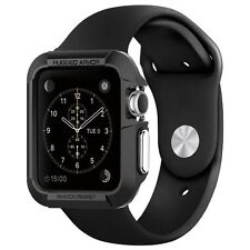 Apple Watch Case 42mm Black SUPCASE Protective Rugged Bumper New Free shipping
