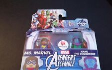 MARVEL AVENGERS MINIMATES MS. MARVEL & KANG THE CONQUEROR EXCLUSIVE