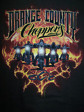 ORANGE COUNTY CHOPPERS HARLEY DAVIDSON SONS OF ANARCHY HOGS BOBBERS L T-SHIRT