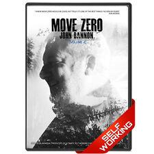 Move Zero Vol 2 by John Bannon - DVD - Selfworking Card Tricks - FREE SHIPPING