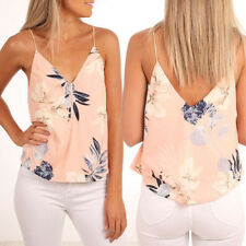Summer Women's Casual Tops Blouse Hammock V-Neck Floral T-Shirt Ladies Hot Sale