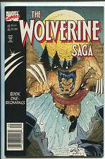 The Wolverine Saga Book One - Trade PaperBack - (Grade 8.5) 1989