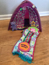 Groovy Girls Tent With Sleeping Bag and Bear by Manhattan Toy
