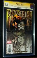 WOLVERINE:ORIGINS #1 2006 SIG SERIES JOE QUESADA Marvel Comics CGC 9.8 NM/MT