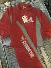 University of Alabama Two Piece Zip Up Crimson Toddler Windsuit