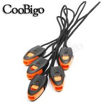 5x Emergency Survival Whistle Kayak Canoe Fishing Lanyard Zipper Pull Cord Ends