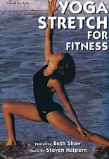 Yoga Stretch For Fitness 1-CD Unabridged Audiobook - Shaw - NEW - FREE SHIPPING