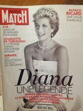 PRINCESS DIANA PARIS MATCH MAGAZINE  2012 UNSEEN DEMARCHELIER PHOTOS