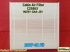 C25863 for Honda FIT 07-08 & New FR-S BRZ PREMIUM CABIN AIR FILTER 90291-SAA-J01
