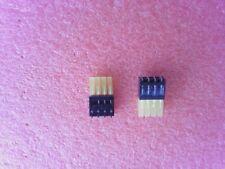 10 x Bargraph - Anzeigen mit 4 LEDs - Gelb - 588nm - 2413.7434 -  NEU