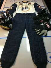LARRY DIXON NHRA Race worn helmet, suit & access from 1999 and 2007 seasons