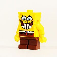 Lego Figur Spongebob Grin with Bottom Teeth Großes Grinsen Zähne bob021 - F345