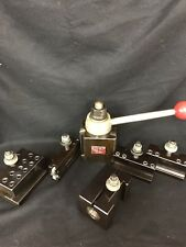 "Dorian Quick Change Tool Post SD40CA With 5 Tool Holders ""NO RESERVE"""