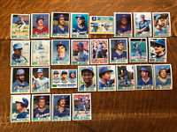 1982 ATLANTA BRAVES Topps COMPLETE MLB Team Set 28 Cards MURPHY NIEKRO PERRY