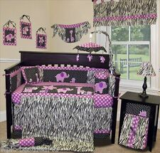 Baby Boutique - Animal Planet (Purple) - 14 pcs Crib Bedding incl. Music Mobile