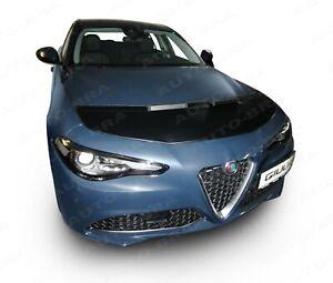 CAR HOOD BONNET BRA fit ALFA ROMEO Giulia (952) since 2016 NOSE FRONT END MASK