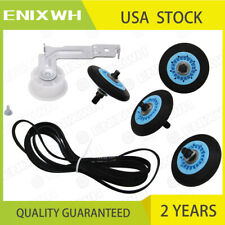 For Samsung Dryer Repair Drum Support Roller &Belt &Idler Pulley Kit DC97-16782A