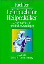 Lehrbuch für Heilpraktiker. Medizinische und juristische... | Buch | Zustand gut