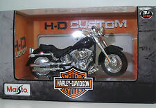 MAISTO 34360 Harley-Davidson 2004 FLSTF1 Fat Boy - METAL Scala1:18