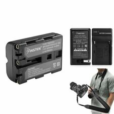 NP-FM500H NPFM500H Battery+Charger+Strap For Sony A350 New
