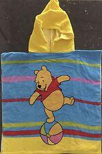 Disney Pooh Bear - Hooded Beach Towel - Size 60 x 120cm