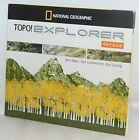 NEW National Geographic TOPO! Explorer Deluxe MAPS Software TomTom Garmin Triton