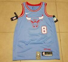 Mens Nike Chicago Bulls ZACH LAVINE #8 Sz M NBA Swingman Jersey City Edition 44