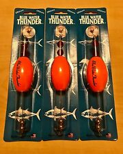 """Precision Tackle Cajun Thunder Fishing Sunglo 2.5"""" Oval Float Cork Lot of 3. New"""
