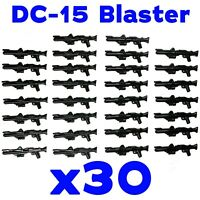 LEGO Star Wars Guns DC-15 Clone Trooper Blaster Rifle Rebel Storm Weapon 30 Pk