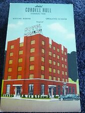 1940's The Hotel Cordell Hull in Dyersburg, Tn Tennessee PC