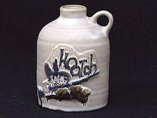 Vintage Pacific Stoneware Glazed Hootch Liquor Jug
