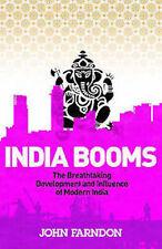 JOHN FARNDON ___ INDIA BOOMS ___ BRAND NEW ___ FREEPOST UK