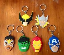 Lot of 6 Marvel Avengers Keyrings - Perfect for loot bags & party favours