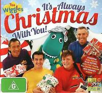 THE WIGGLES It's Always Christmas With You! CD BRAND NEW ABC For Kids Caddy Case