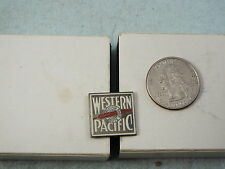 RAILROAD PIN WESTERN PACIFIC FEATHER RIVER ROUTE