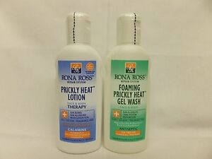 Twin Pack Rona Ross Prickly Heat Lotion and Gel Wash     2 X 160 ml. EXPRESS P&P
