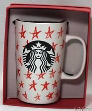 Starbucks Coffee Mug Stars Tall 16 Ounce Holiday Dot Collection 2014