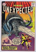 Tales of the Unexpected #59 Good/Water Damage Complete DC Comics 1961 PWC