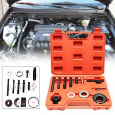 12PCS Pulley Puller & Installer Kit Power Steering Pump Remover Alternator Tools