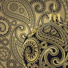"Christmas Paper Luncheon Napkins 2x20 pcs 13""x13"" Elegant Glass Ball Black Gold"
